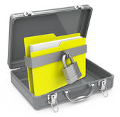 The secure folder — Stok fotoğraf
