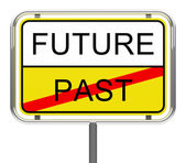 Future-past — Stock Photo