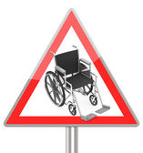 Disability — Stock Photo