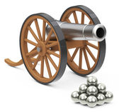 The cannon — Stock Photo