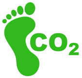 The ecological footprint — Stock Photo