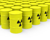 The nuclear waste — Stock Photo
