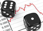 Il mercato azionario — Foto Stock
