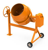 The concrete mixer — Stock Photo
