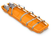 The rescue stretcher — Foto de Stock