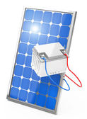 Photovoltaic battery — Stock Photo