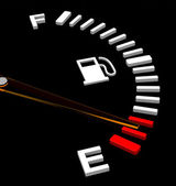 The fuel gauge — Foto Stock