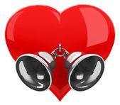 Heart bells — Stock Photo