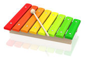 The xylophone — Stock Photo
