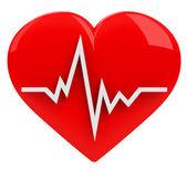 Le rythme cardiaque — Photo