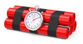 The time bomb — Stock Photo
