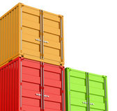 The containers — Stock Photo
