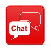 The chat — Stock Photo