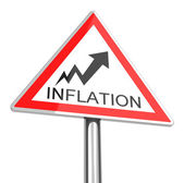 The inflation — Stock Photo