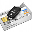 The car key — Foto Stock
