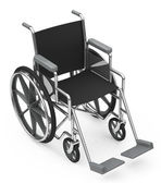 The wheelchair — Stockfoto