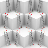 The ladders — Stock Photo