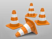The cones — Stock Photo