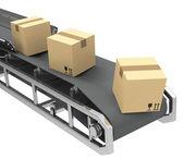 The conveyor — Stock Photo