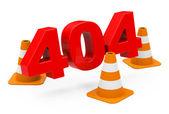 404 concept — Stock Photo