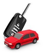 The car key — Stock Photo