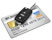 The car key — Stok fotoğraf