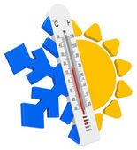 The temperatures — Stock Photo