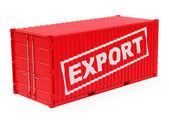The export container — Foto de Stock