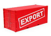 The export container — Stock Photo