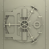 The bank vault — Stock Photo