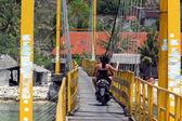 Nusa Lembongan Island  village — Stock Photo