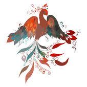 Firebird. Vector. — Stock Vector