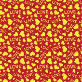 Love heart hand draw — Stock Vector