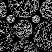 Stylish polka dot texture. Seamless pattern. — Stock Vector