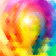 Abstract background bright colors summer seamless — Stock Photo #49333427
