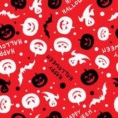 Happy halloween card design vector — Stock Vector