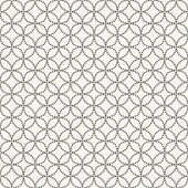 Vector seamless pattern. Modern stylish texture. Repeating geometric background — Stock Vector