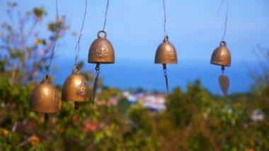 Thai style bells — Stock Video