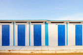 Building on the sand — Stock fotografie