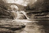 Old stones bridge — Stock Photo