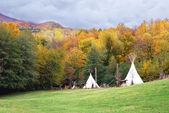 Tent of the Indians — Stock Photo