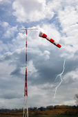 Wind direction indicator — Stock Photo