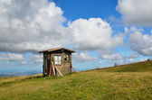 Wooden hut — Stockfoto