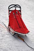 Snow sled — Stock Photo