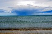 буря над морем — Стоковое фото