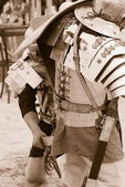 Roman duel — Stock Photo