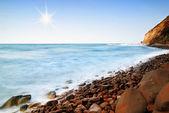 Dreamy coast — Stock Photo