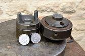 Acuñación de monedas — Foto de Stock