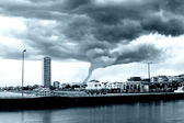 Tornado incoming — Stock Photo