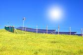 Sonnenkollektoren — Stockfoto